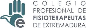 logotipo colegio profesional de fisioterapeutas de extremadura